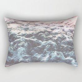Soft Sea Swash Wave Rectangular Pillow