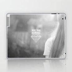MORE THAN DIAMONDS Laptop & iPad Skin