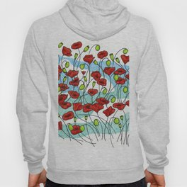 Field Poppies Hoody