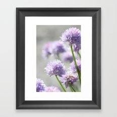 I dreamt of fragrant gardens Framed Art Print