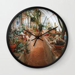 Cactarium Wall Clock