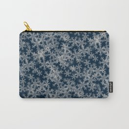 Deep Blue Snow Carry-All Pouch