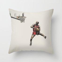 MJ50 Throw Pillow