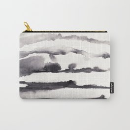 Stacked terrain Carry-All Pouch