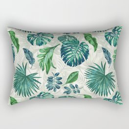 Lush Greens Rectangular Pillow