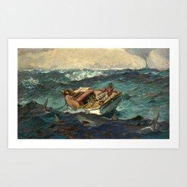 The Gulf Stream by Winslow Homer, 1899 Art Print