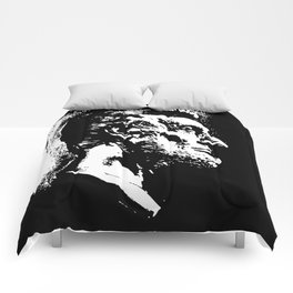 Face Lincoln Comforters