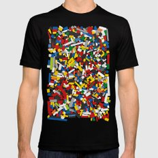 The Lego Movie Mens Fitted Tee X-LARGE Black