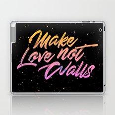Make Love not Walls Laptop & iPad Skin