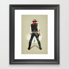 Long, long time ago… Framed Art Print