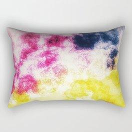 Watercolor effect digital art Rectangular Pillow