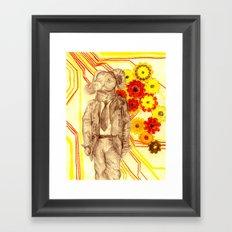 Steampunk Ram Framed Art Print