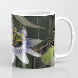 Delicate and Beautiful Passiflora Flower Coffee Mug