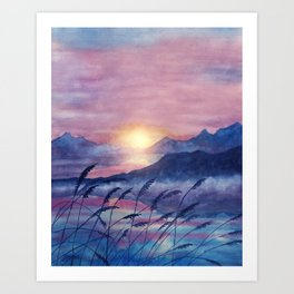 Wish You Were Here  01 Art Print