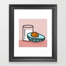 Avocado Slam Dunk  Framed Art Print