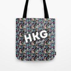 Hong Kong (Libertee City) Tote Bag