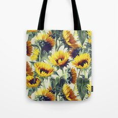 Sunflowers Forever Tote Bag