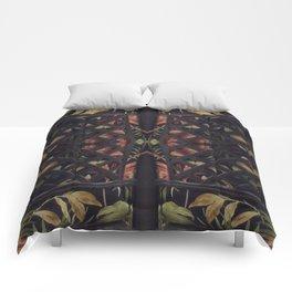 Tropical Latticework Pattern Comforters