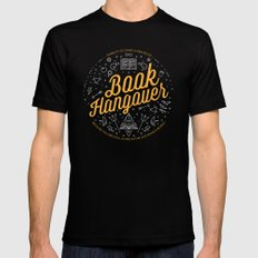 Book hangover Black Mens Fitted Tee MEDIUM