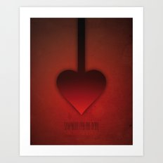 SMOOTH MINIMALISM - Sympathy For The Devil Art Print