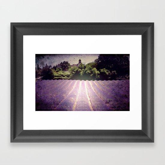 Lavenderdays Framed Art Print