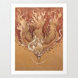 Flight to Destiny Art Print