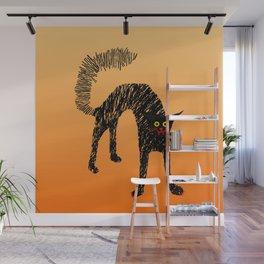Black Cat 01 Wall Mural
