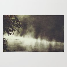 a place beyond - river scene Rug