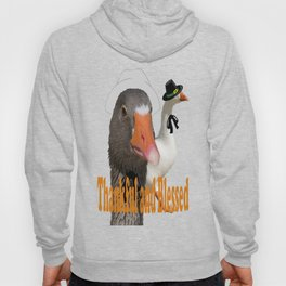 Thankful and Blessed Thanksgiving Pilgrims Hoody