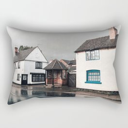 Rainy day in Derbyshire Rectangular Pillow