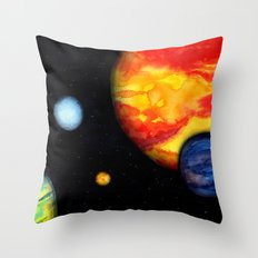 A Different World Throw Pillow