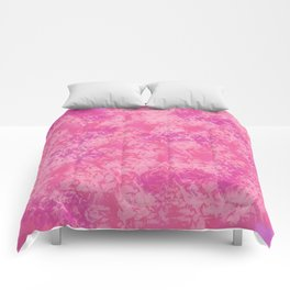 Cotton Candy on Ice Comforters