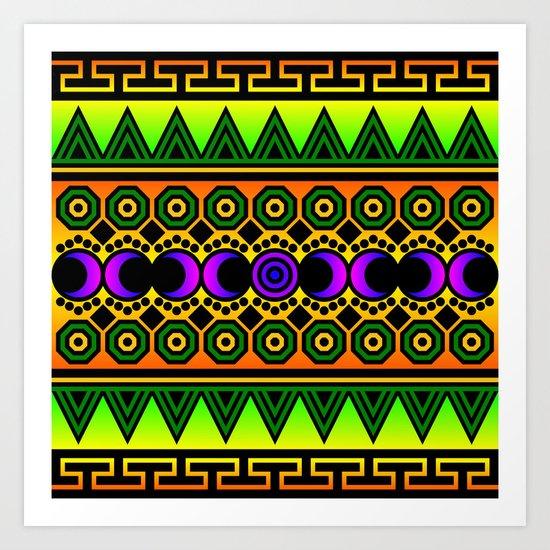 Tribal One Art Print