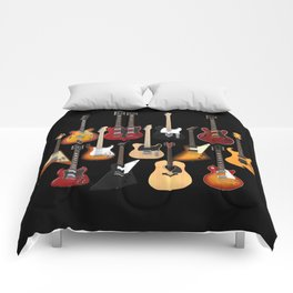 Too Many Guitars! Comforters