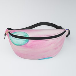 Happy Dots pink Fanny Pack