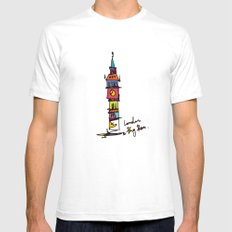 architecture SMALL Mens Fitted Tee White