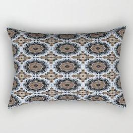 An abstract Tiger's Eye Background Rectangular Pillow