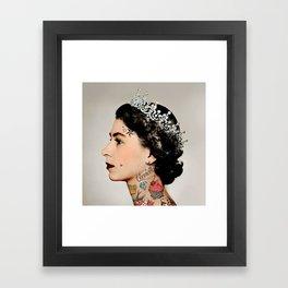 Rebel Queen Framed Art Print
