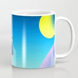 tardis space at starry night Coffee Mug