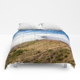 Mountains on Madeira Comforters