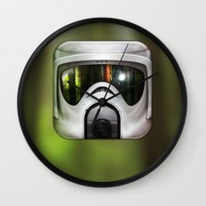 Scout Trooper Wall Clock