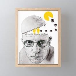 Foucault Framed Mini Art Print