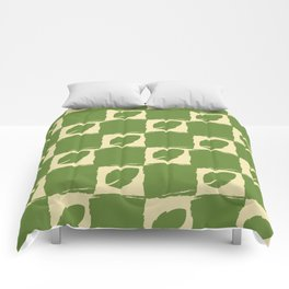 Leaf Green Comforters