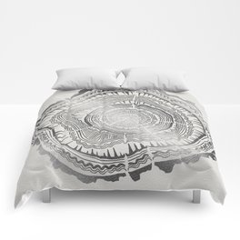Growth Rings – 65 Years – Silver Comforters