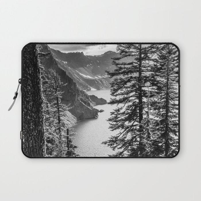 Forest Lake Retreat - Crater Lake Laptop Sleeve