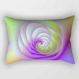 Oval Window Spiral Rectangular Pillow