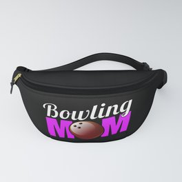 Bowling Mom print Funny Gift For Bowlers Fanny Pack