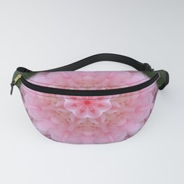 Pink Carnation Mandala Abstract Fanny Pack