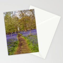Bluebell Woods Grey's Court Oxfordshire UK Stationery Cards