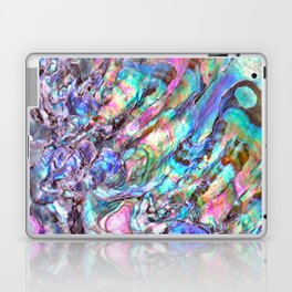 Shimmery Rainbow Abalone Mother of Pearl Laptop & iPad Skin